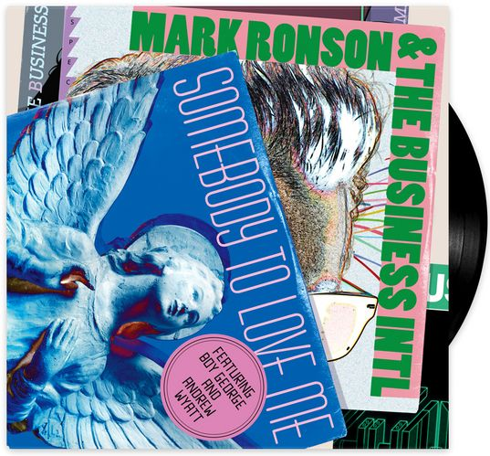 Mark Ronson & The Business Intl / Somebody To Love Me / 12''