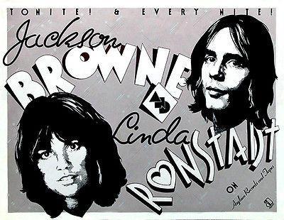 1974 Promo Jackson & Linda