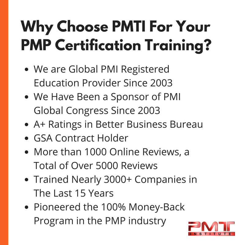 Project Management Training Institute (PMTI) Has Been The