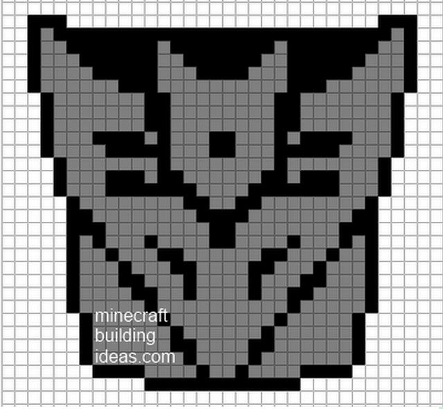 Decepticon | Pixel Templates | Pinterest | Template