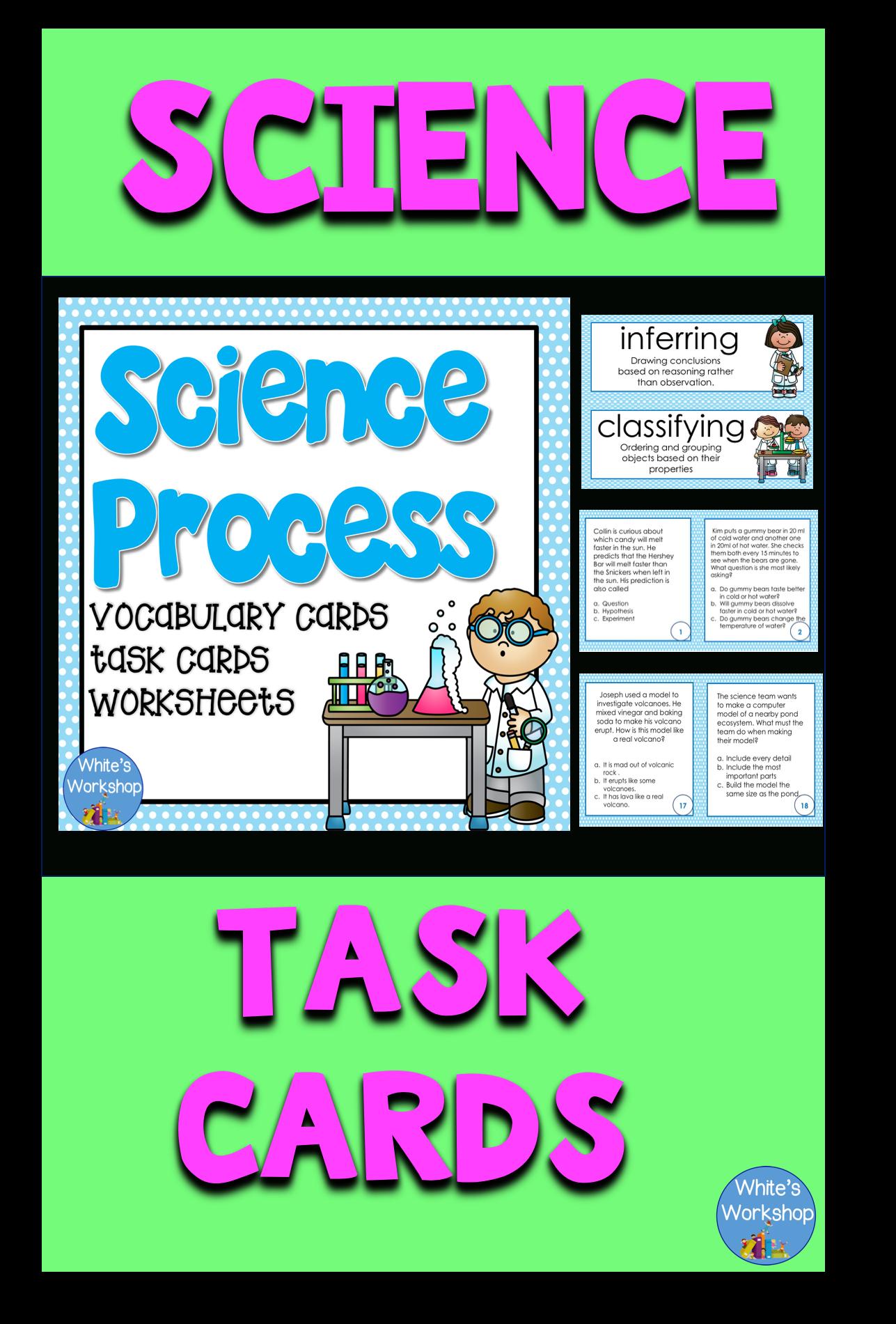 Science Process Skills Practice
