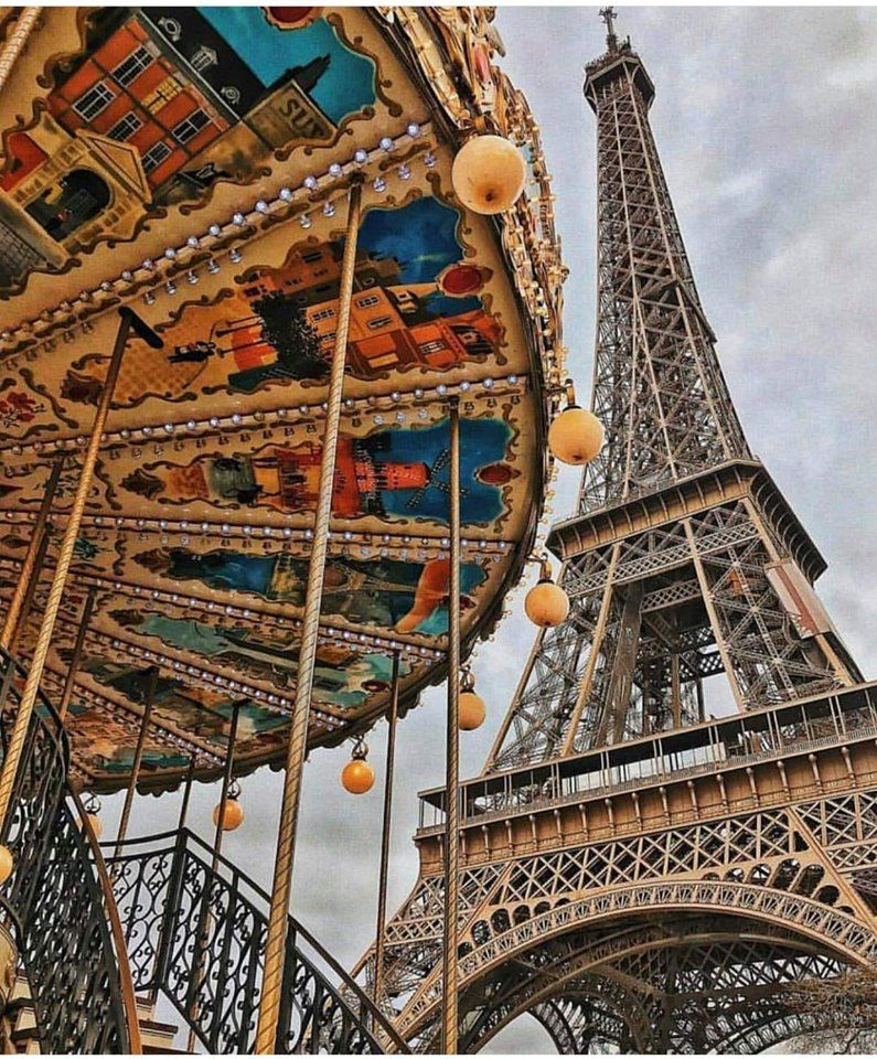 Pin By Isabelly Souza On Paris Tour Eiffel Eiffel Tower Old Train Station