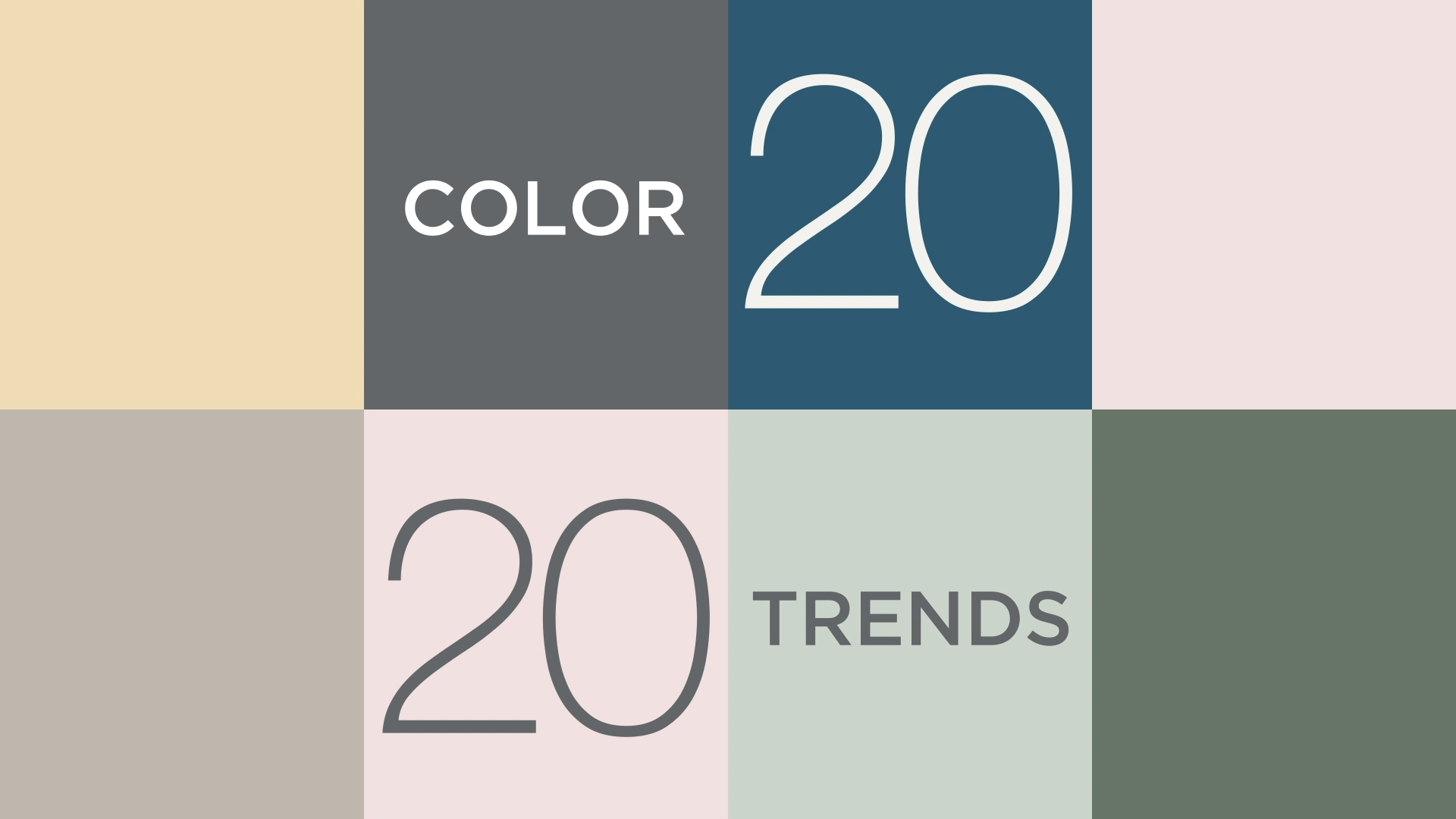 A brand new decade. A palette of ten well timed but timeless hues culled from ou...  #Benjamin #Color #Moore #Trends