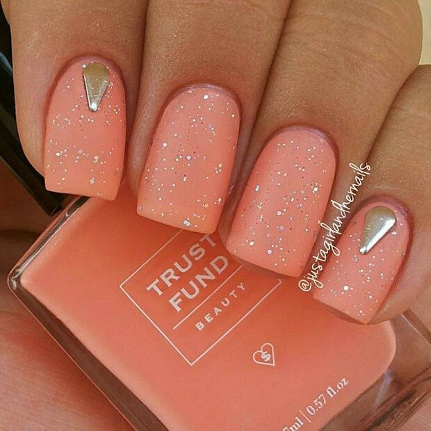 Coral Egyptian Nails Nail Art Pinterest Egyptian Nails And