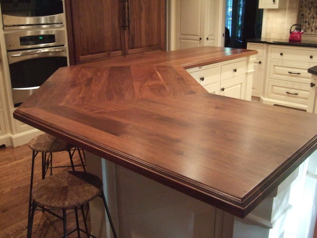 Diy Countertop Idea Ikea Wooden Counters Finished With Waterlox I