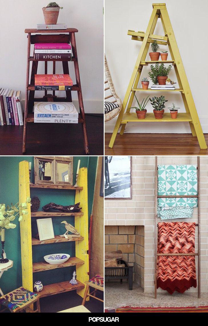 Step it up genius ways to decorate with ladders decorating