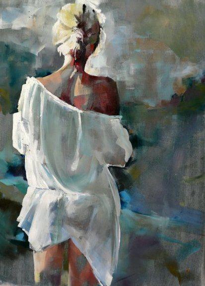 Scenes Nushka Nsk Peinture Aquarelle Peinture Abstraite Et