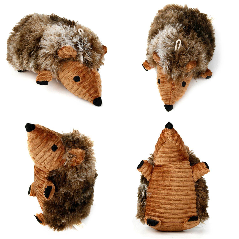 Hedgehog Dog Toys Legendog 2 Pcs Pet Squeaky Toys Stuffed Plush