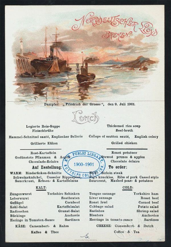 Browse vintage menus online! Cool Links Menu, Menu restaurant