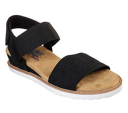 Buy Skechers Women's Desert Kiss Red Fashion Sandals 4 UK