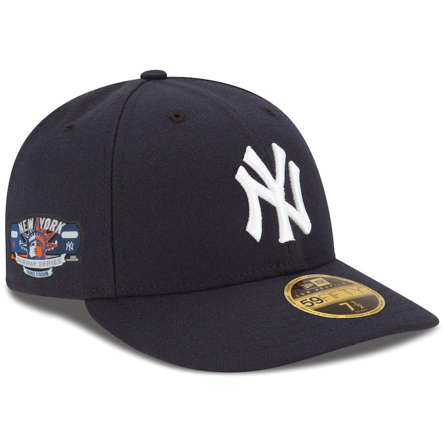 aa50bd4aa0957 Men s New York Yankees New Era Navy Subway Series LP 59FIFTY Fitted ...