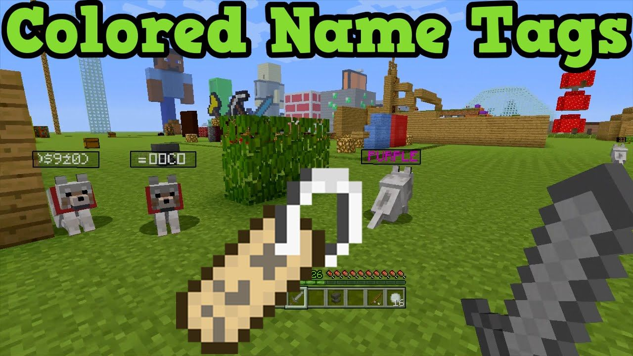 Minecraft Xbox 360 Ps3 Coloured Name Tags With Images