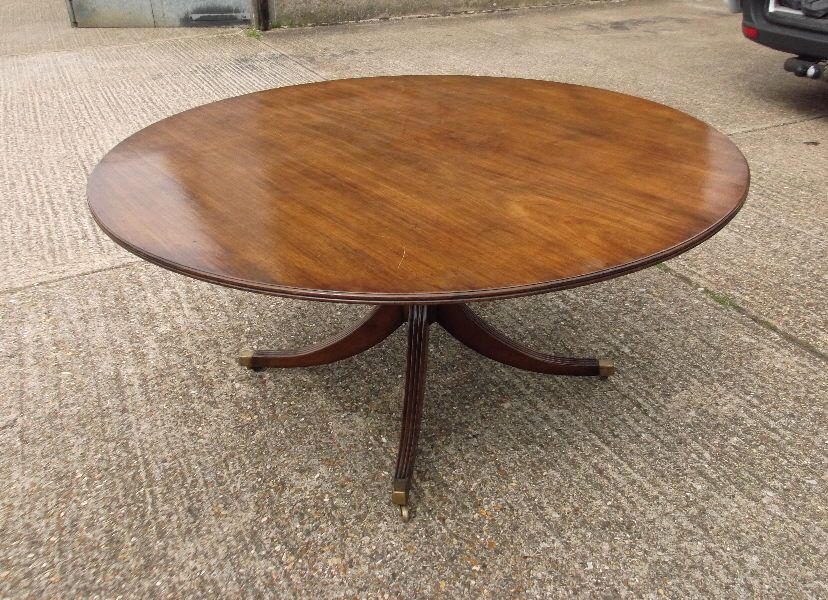 beautiful large round dining table seats 8 | dining table ideas ...