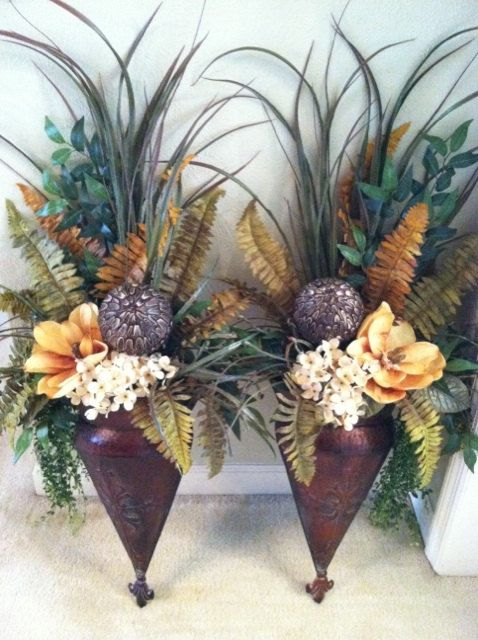 Floral Wall Sconces - Extra Large Wall Sconces - Wall ... on Pocket Wall Sconce For Flowers id=75979