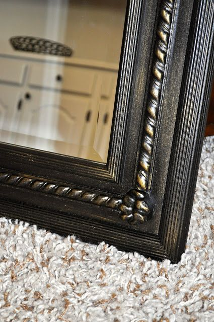 Finding Fabulous Home Decor Mirrors Painting Mirror Frames Bronze Spray Paint