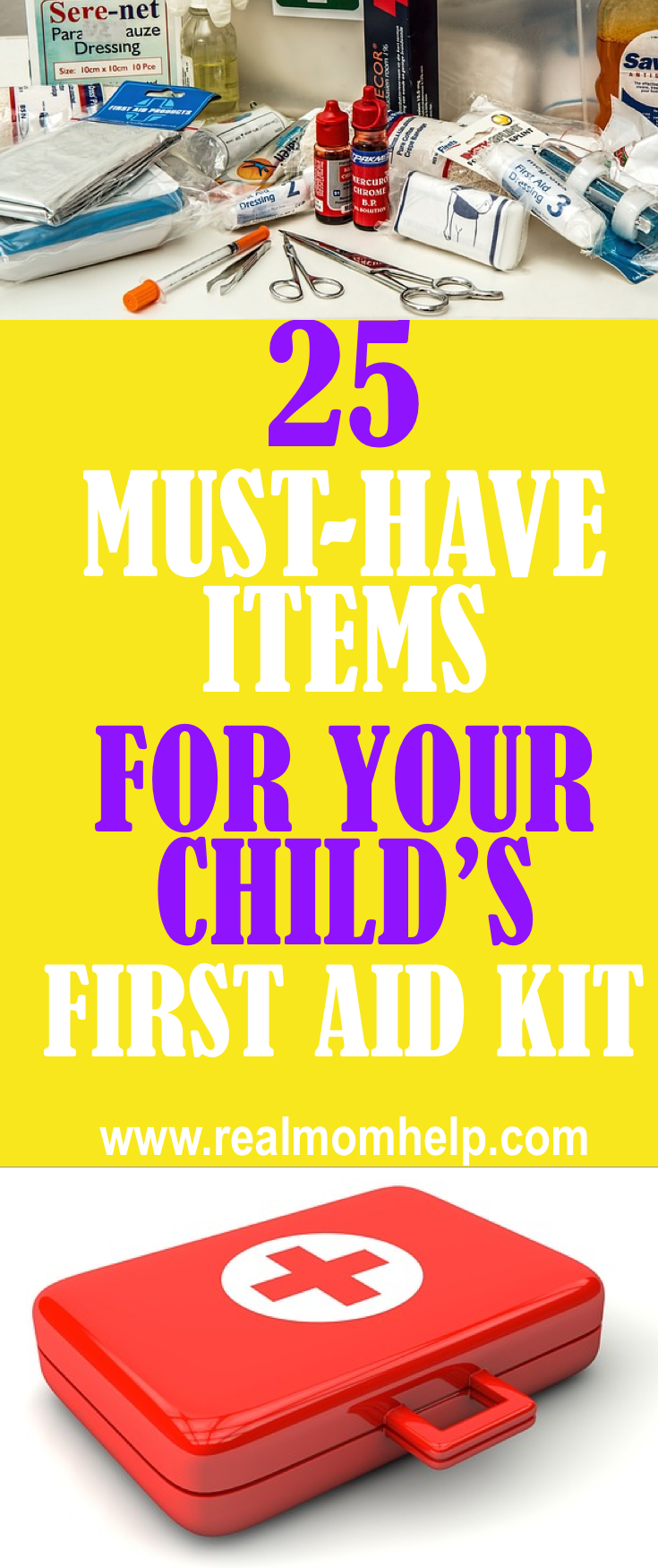 The Ultimate List Of First Aid Kit Supplies First aid