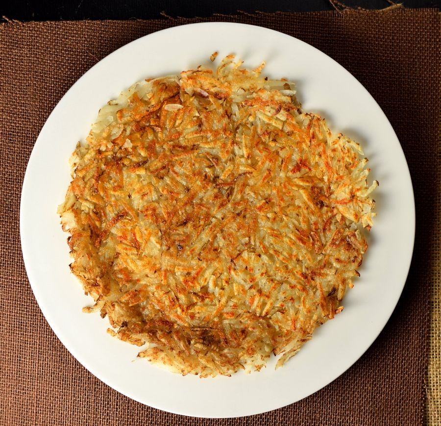 Homemade Shredded Hash Browns from scratch