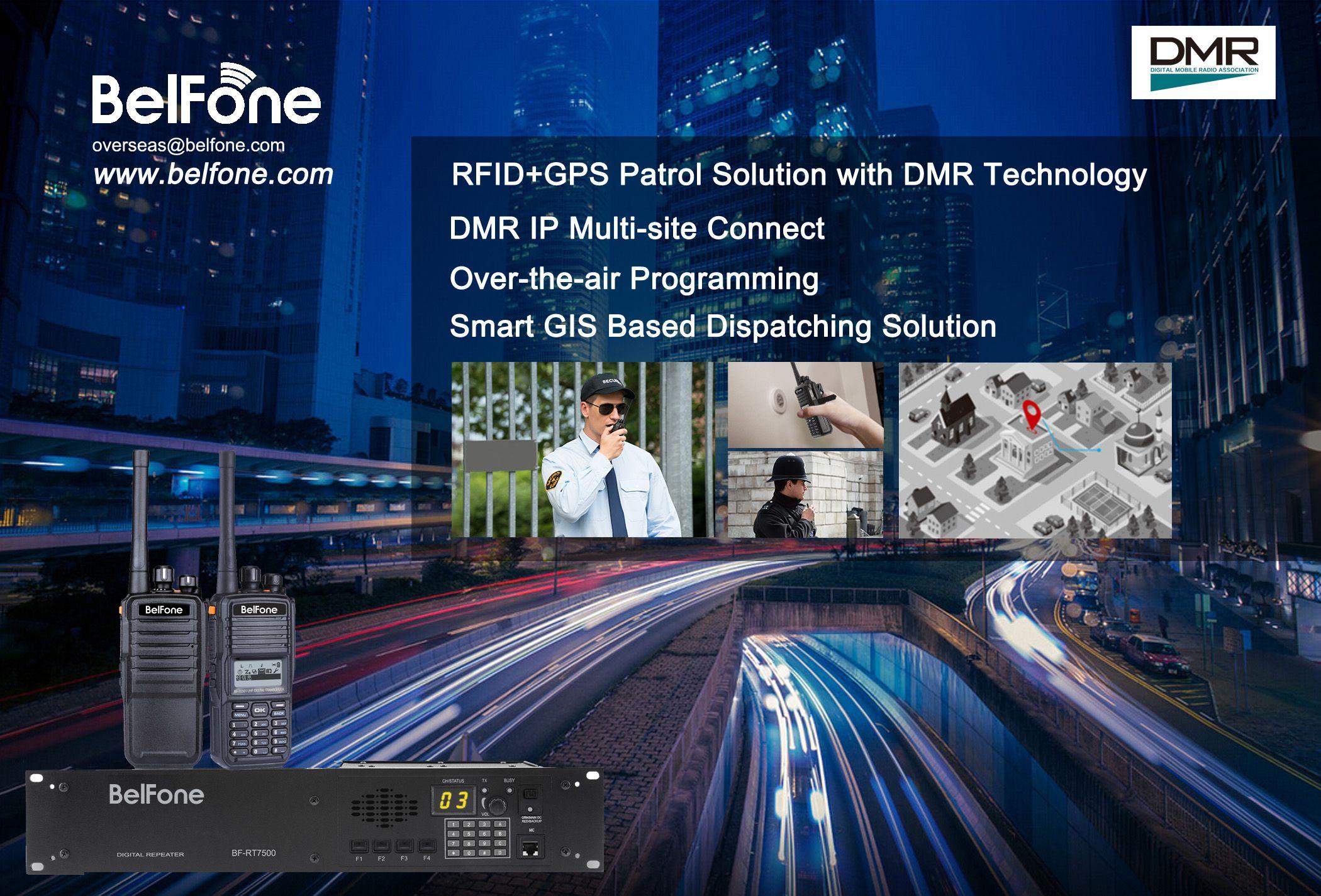 BelFone RFID portable radio BF-TD500/501   DMR commercial