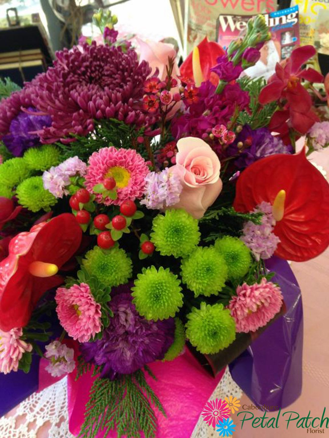 Stunningly fresh and vibrant! Flower delivery, Florist