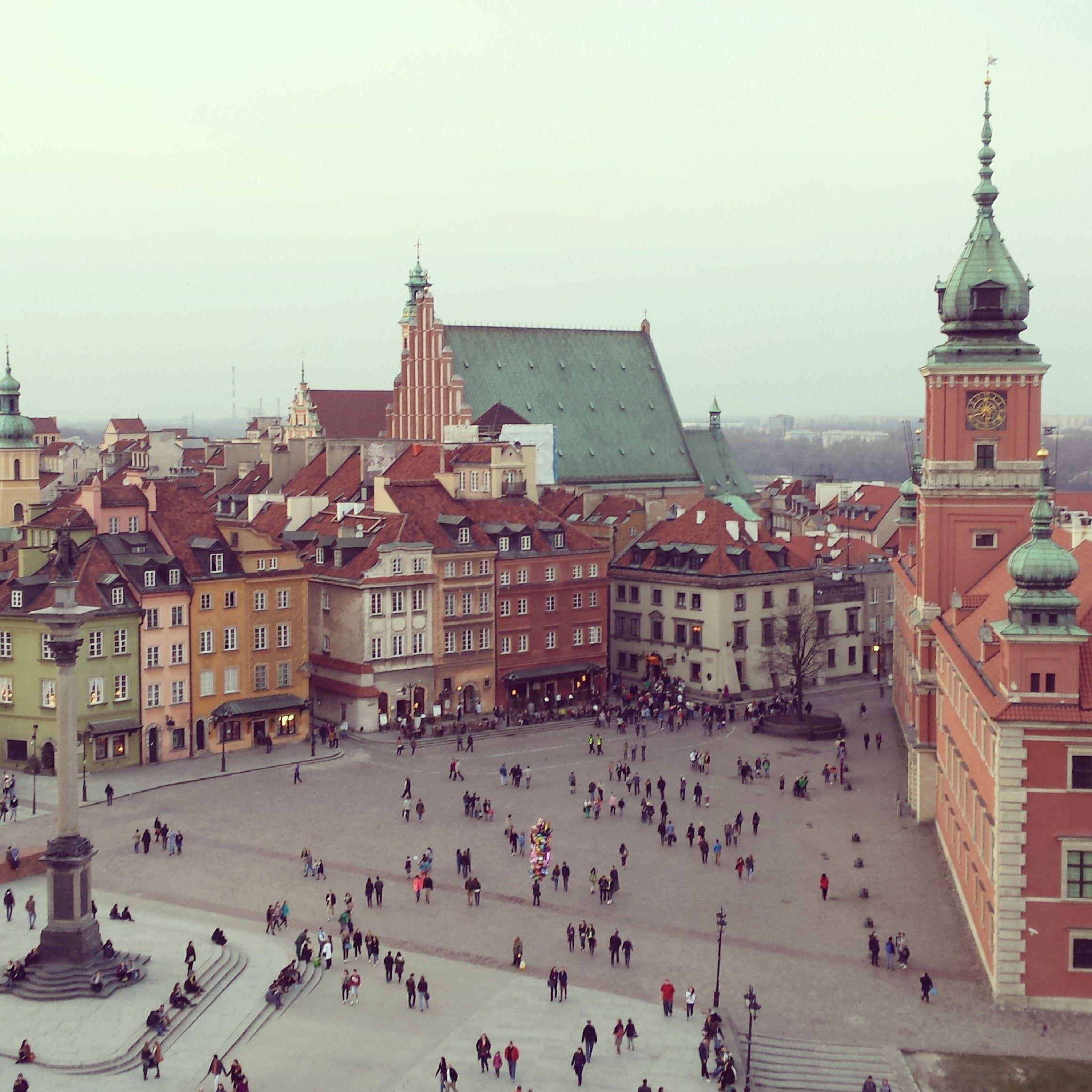 Old Warsaw, Castle Square