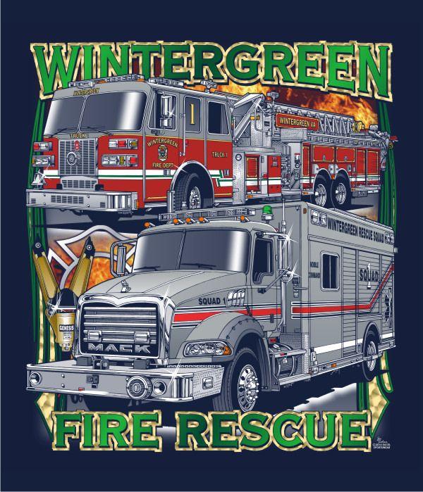 Wintergreen Fire Rescue Fire trucks, Fire service, Fire