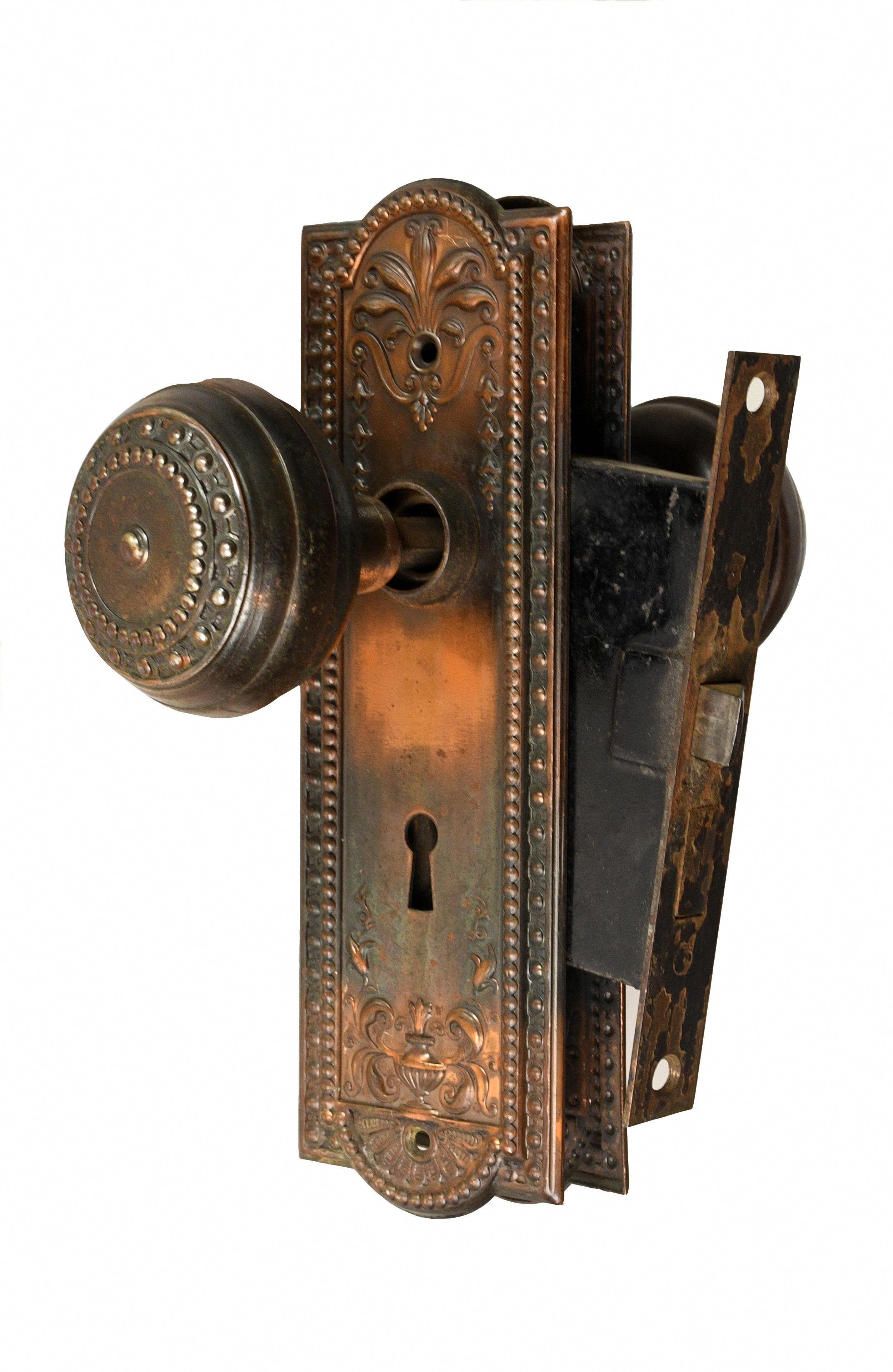 Find more info on door handle lock metal tree metal
