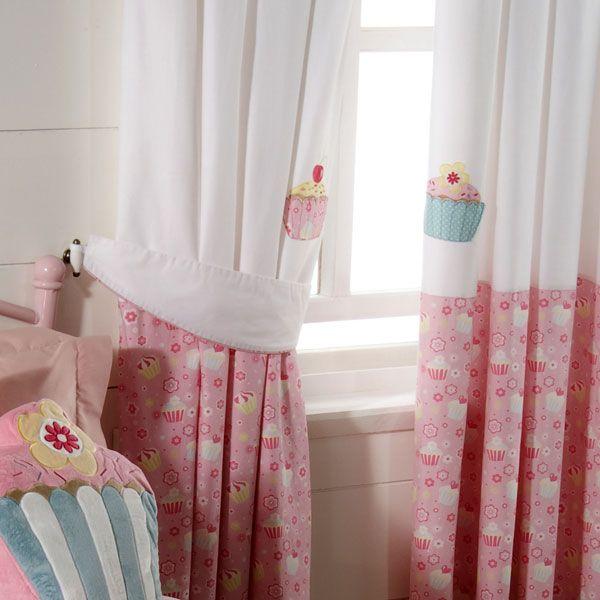 Exceptional Cupcake Blackout Pencil Pleat Curtains