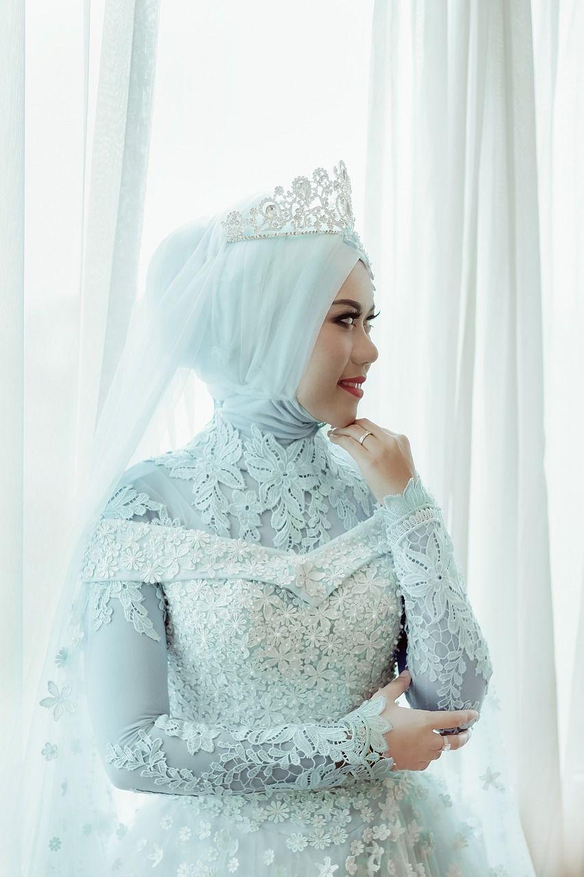 Free Image On Pixabay Wedding Women Dress Hijab Moodboard