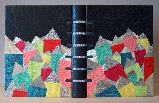 Louise Mauger • Reliure d'art