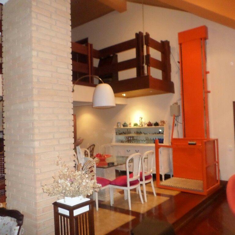 Elevadores plataforma residencial externo www.agoraelevadores.com ...