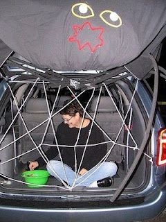halloween idea 16 ways to decorate your car for trunk or treat