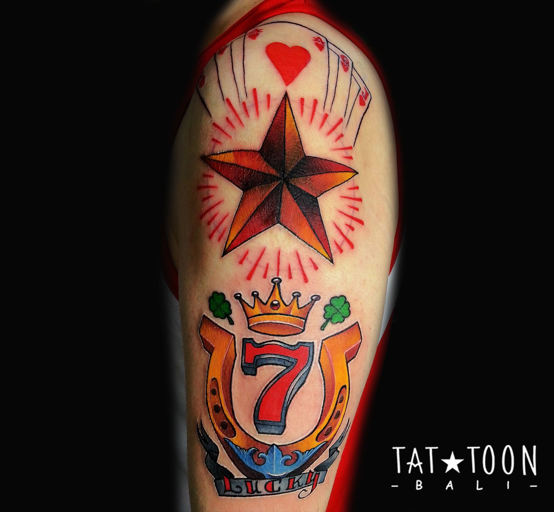 To get the best tattoo in Bali go to Tattoon. IG