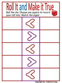 Greater Than Less Than Games And Activities For Primary Grades First Grade Activities Primary Grades First Grade Math