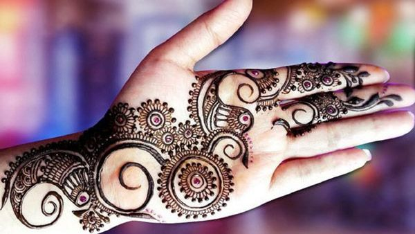 Mehndi Designs For Palm : Cone mehndi designs  for hands images free download