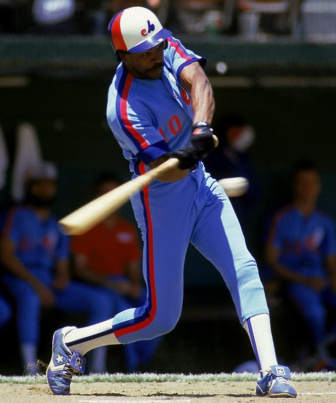 Over 21 Seasons Dawson Hit 438 Home Runs Knocked In 1 591 Runs And Played In Eight All Star Games He Was Best Baseball Player Mlb Baseball Teams Andre Dawson