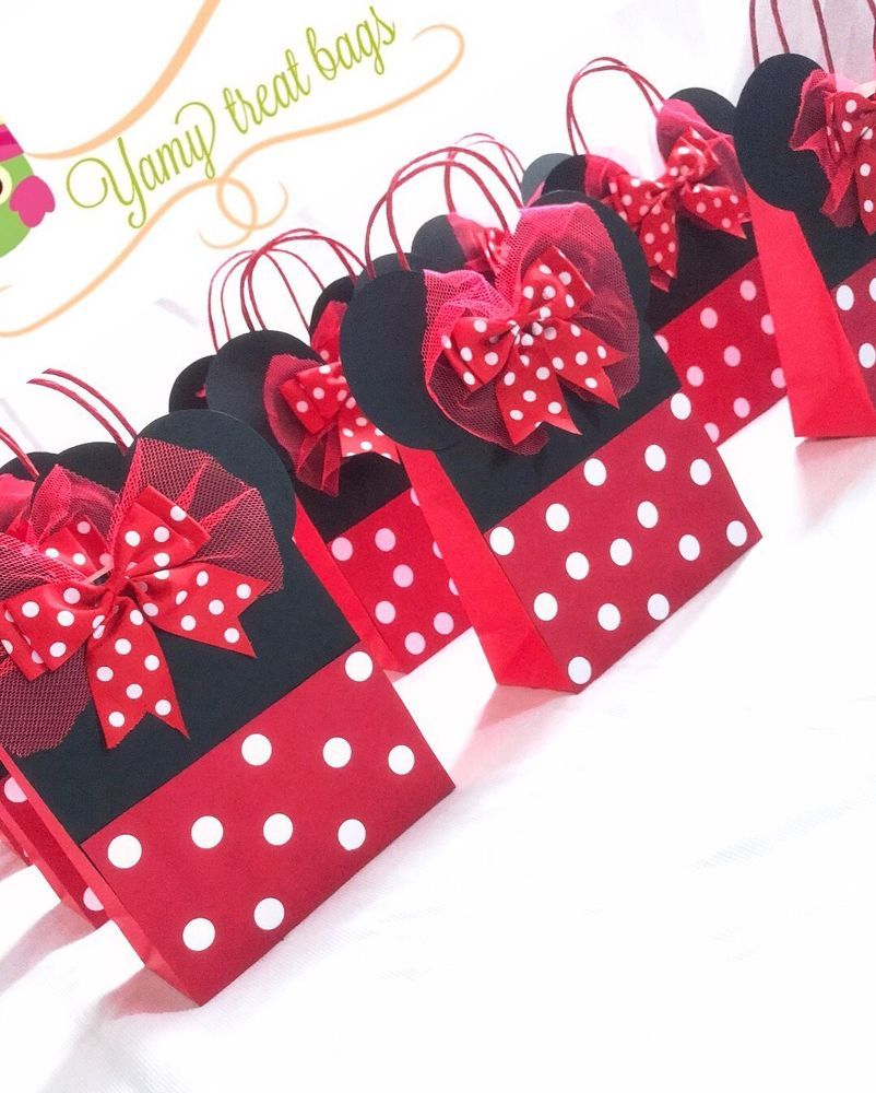 Details About Minnie Mouse Mickey Mouse Party Bags Loot