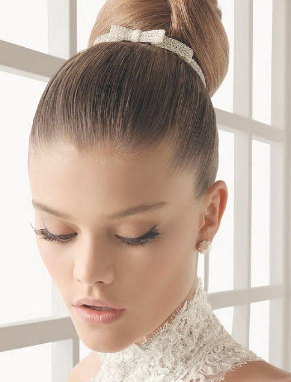 Peinados de novia para bajitas