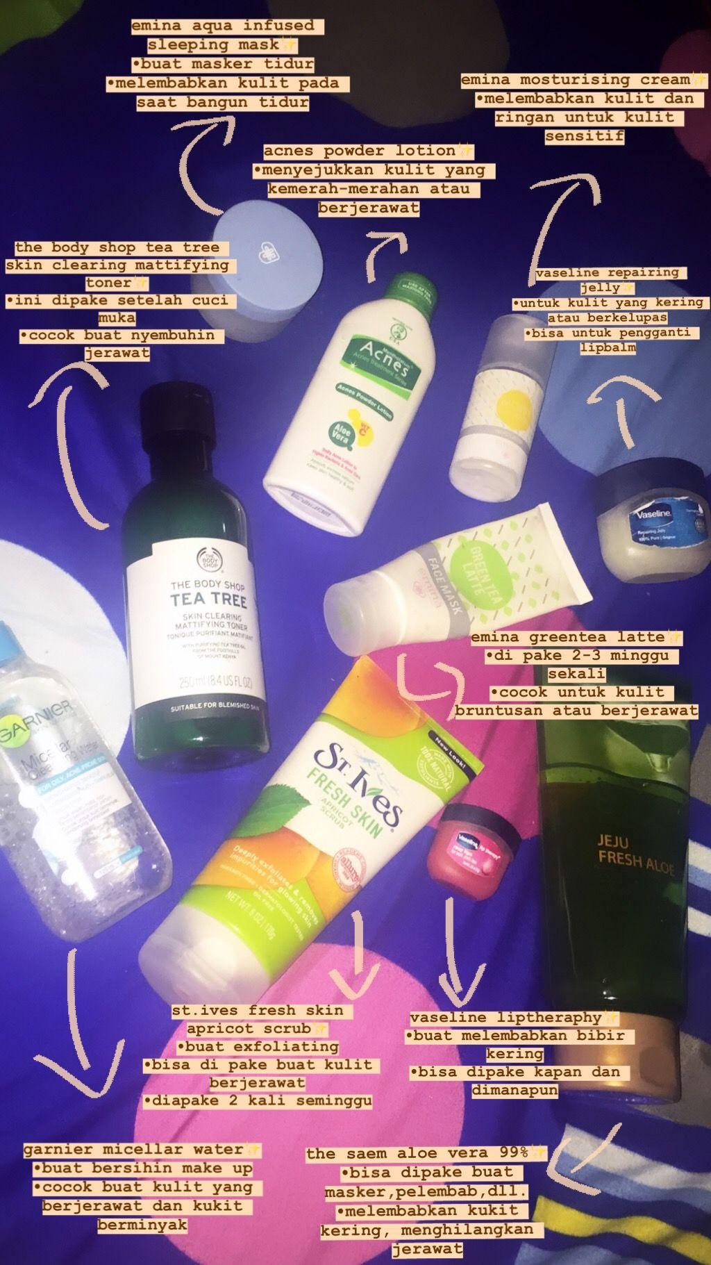 Produk Skincare Yang Bagus Untuk Kulit Berminyak Dan Berjerawat Bruntusan