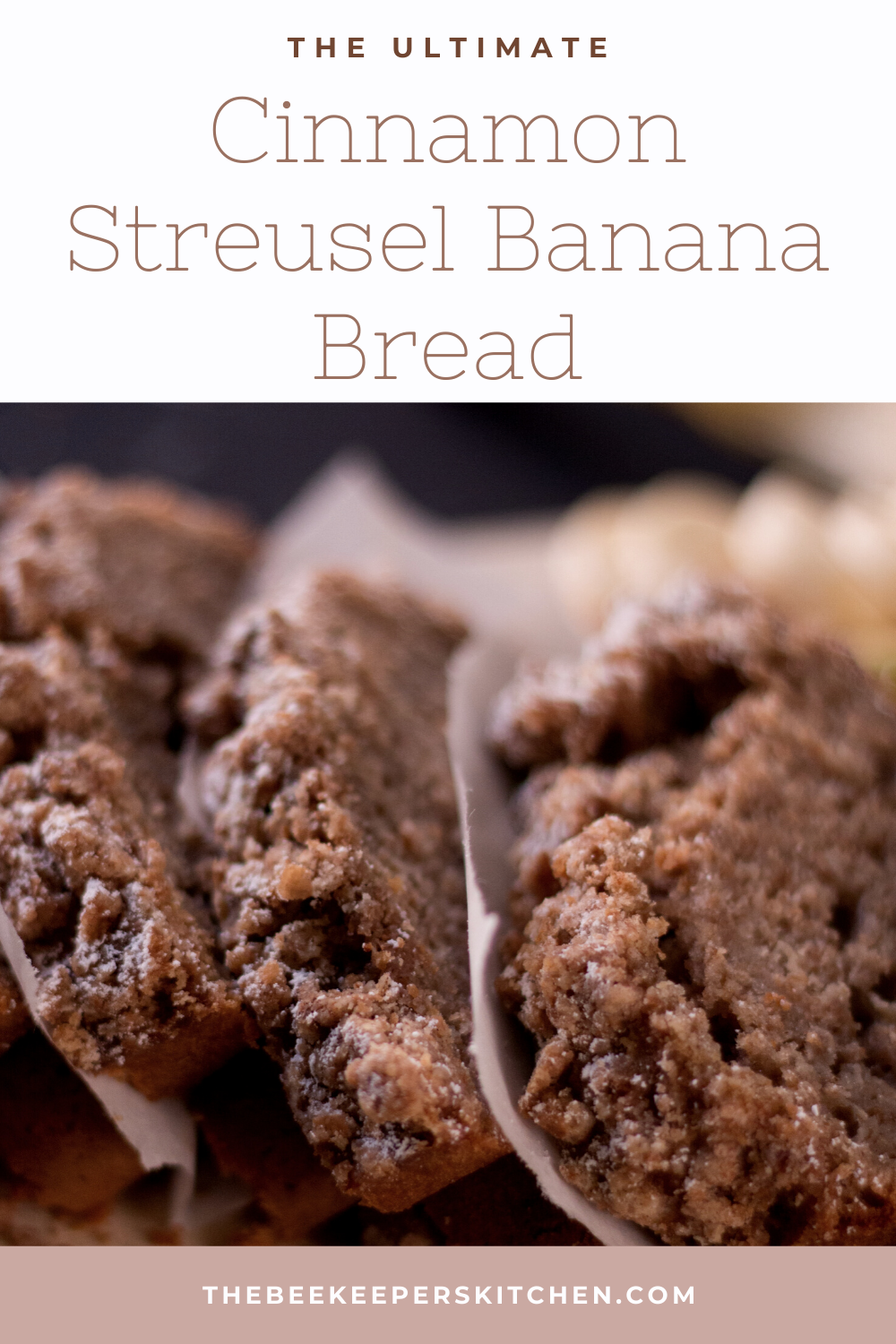 Cinnamon Streusel Banana Bread Beekeeper S Kitchen Recipe In 2020 Recipes Delicious Banana Bread Recipe Buttermilk Banana Bread