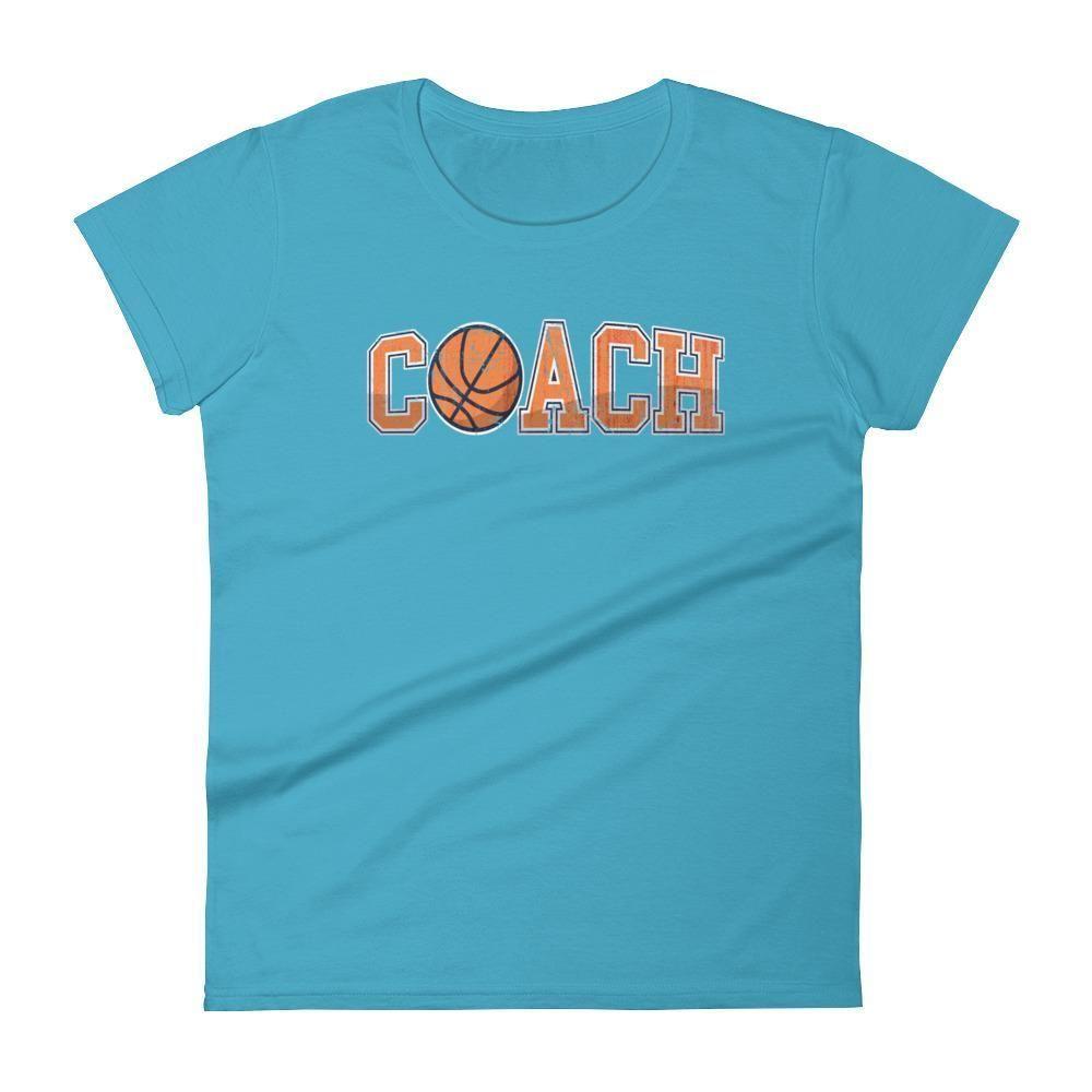 Women's Basketball Coach Gift - Basketball coaching t shirt