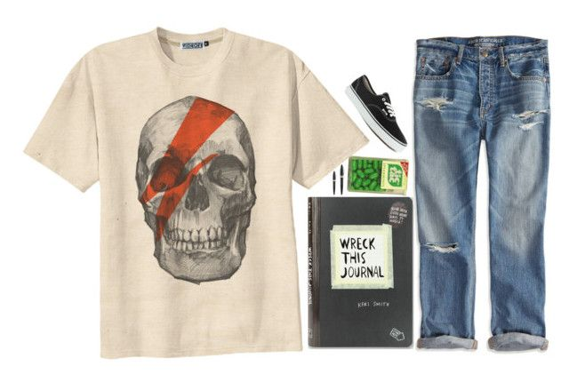 """""""2 cool 4 u"""" by breakingtables ❤ liked on Polyvore featuring Retrò, American Eagle Outfitters, Vans and Pineider"""