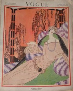 Helen Dryden cover for the Sept 1922 issue of Vogue magazine