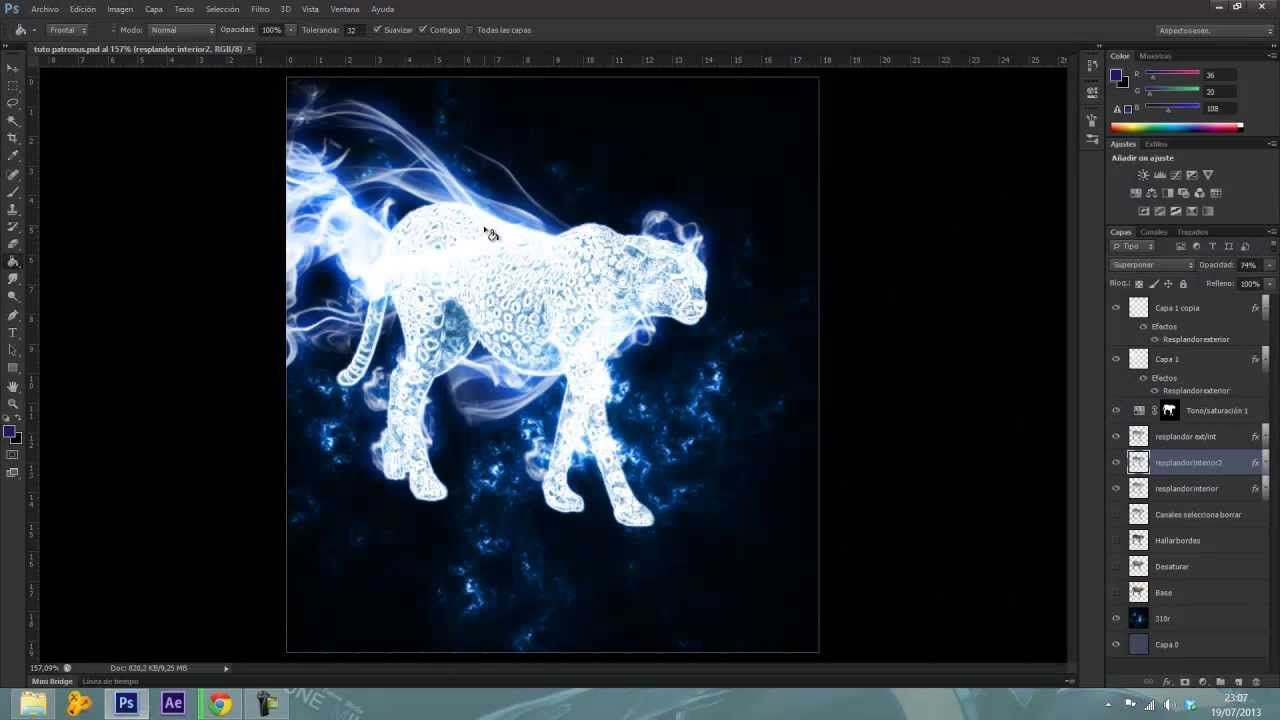 Patronus ps6 tutorial photography harry potter shoot patronus ps6 tutorial baditri Choice Image