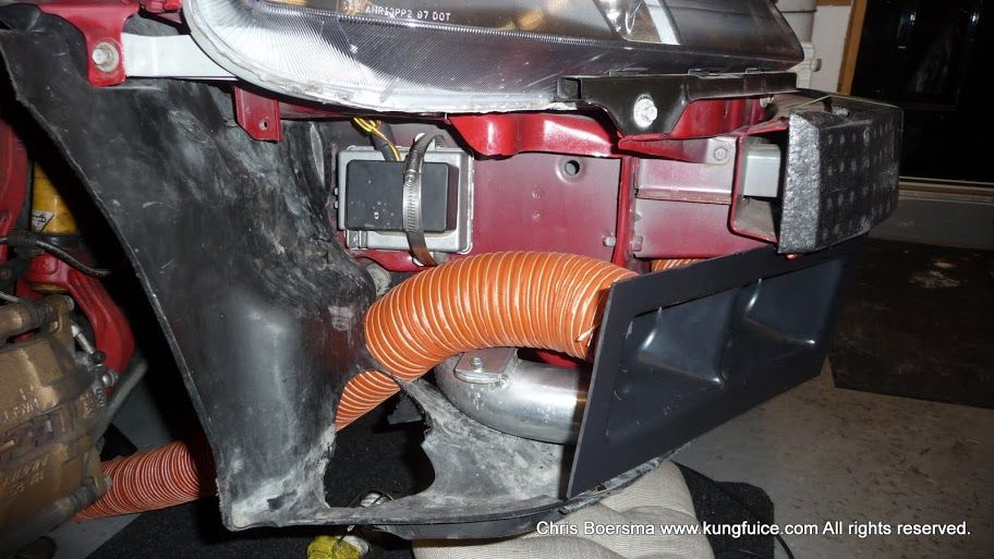 Fog Light Brake Ducts And Cooling Theories Honda Tech Duct Autocross Theories