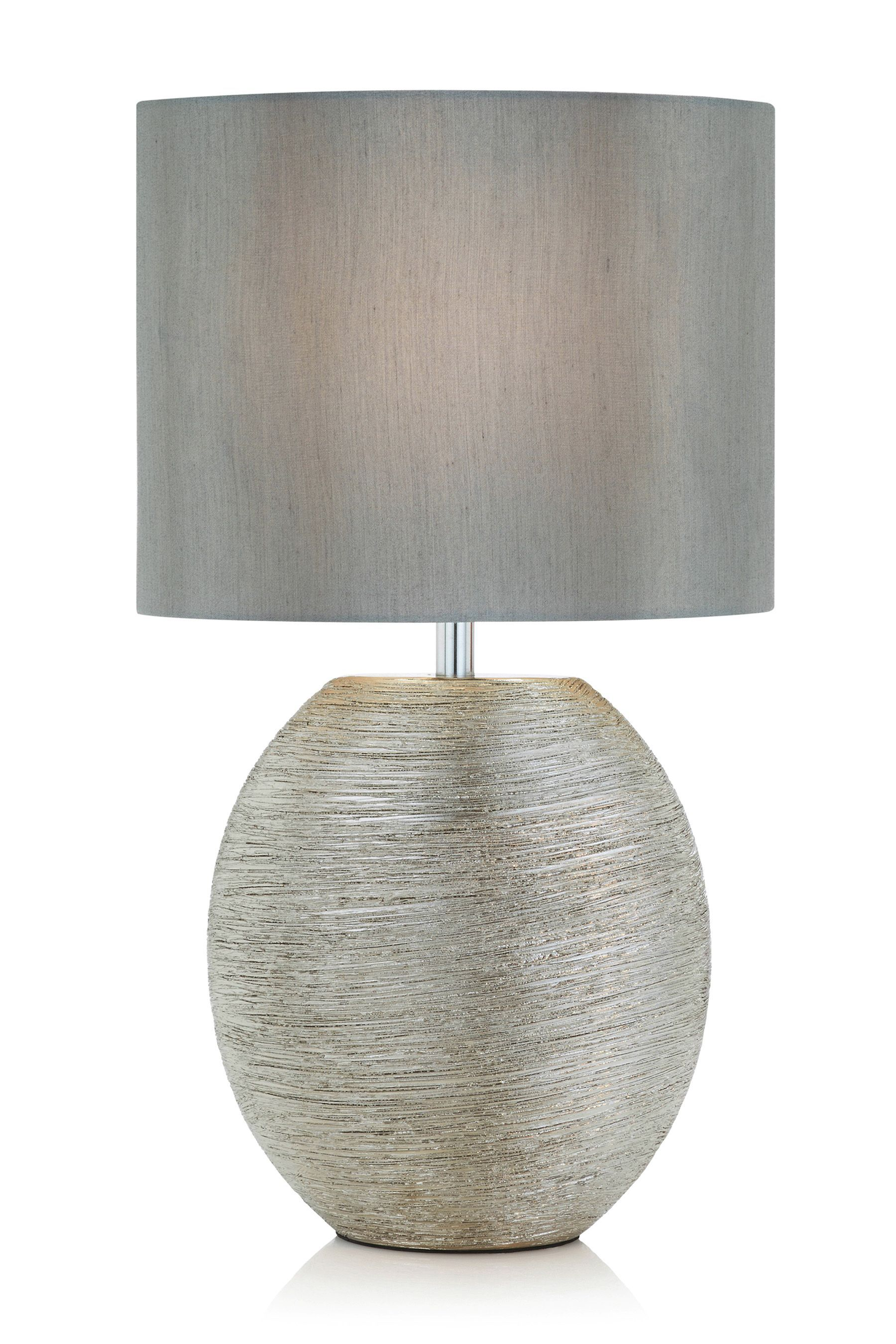 Large Table Lamps For Living Room Lake House Photos Buy Ceramic Scratch Silver Lamp From The Next Uk Online Shop