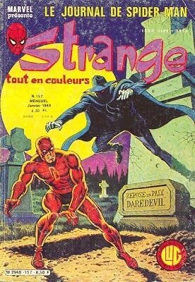 Strange #157 - Le journal de Spider-Man