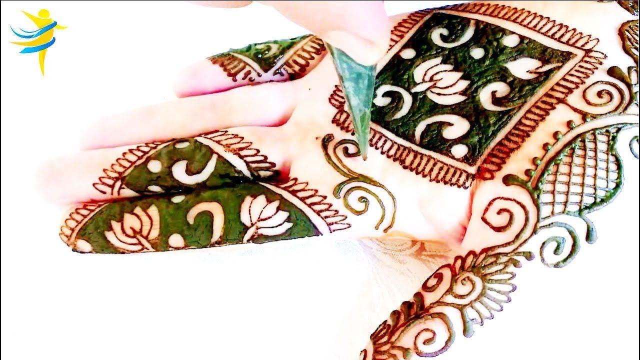 Easy And Simple Arabic Mehndi Design For Beginners सरल आध न क अभ भ म हद Simple Arabic Mehndi Designs Simple Mehndi Designs Mehndi Designs For Beginners