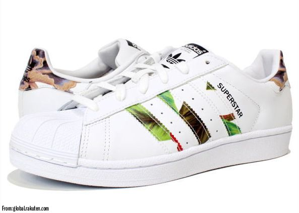 adidas superstar bianche e colotate