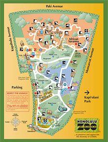 Plan Your Visit Honolulu Zoo Hawaii Trip Pinterest Honolulu