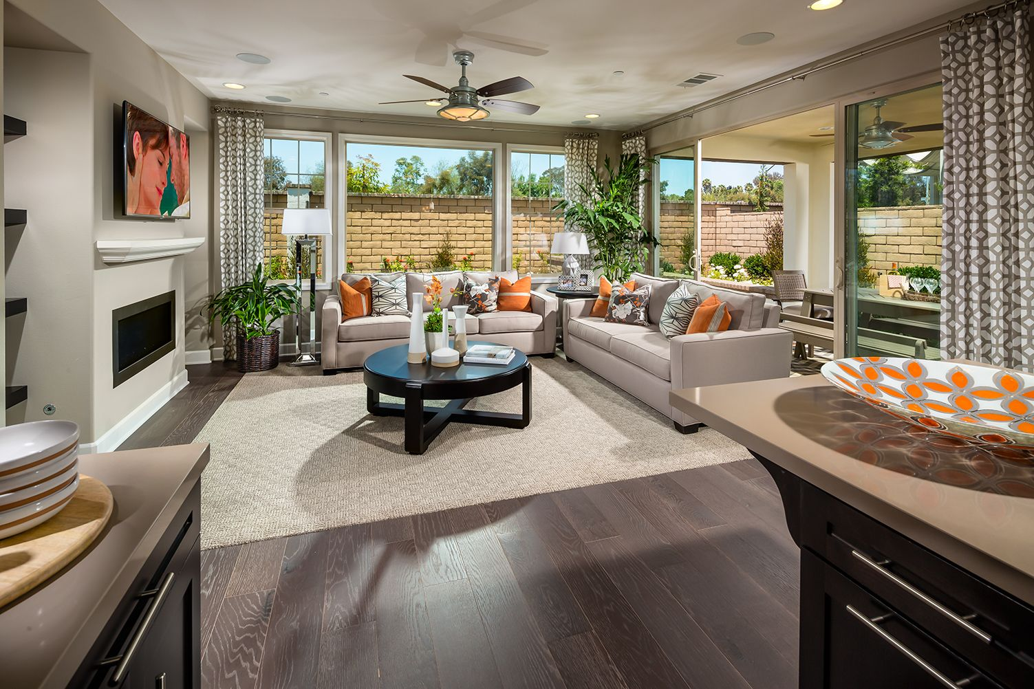 indoor outdoor living in style at casabella | luxury new homes